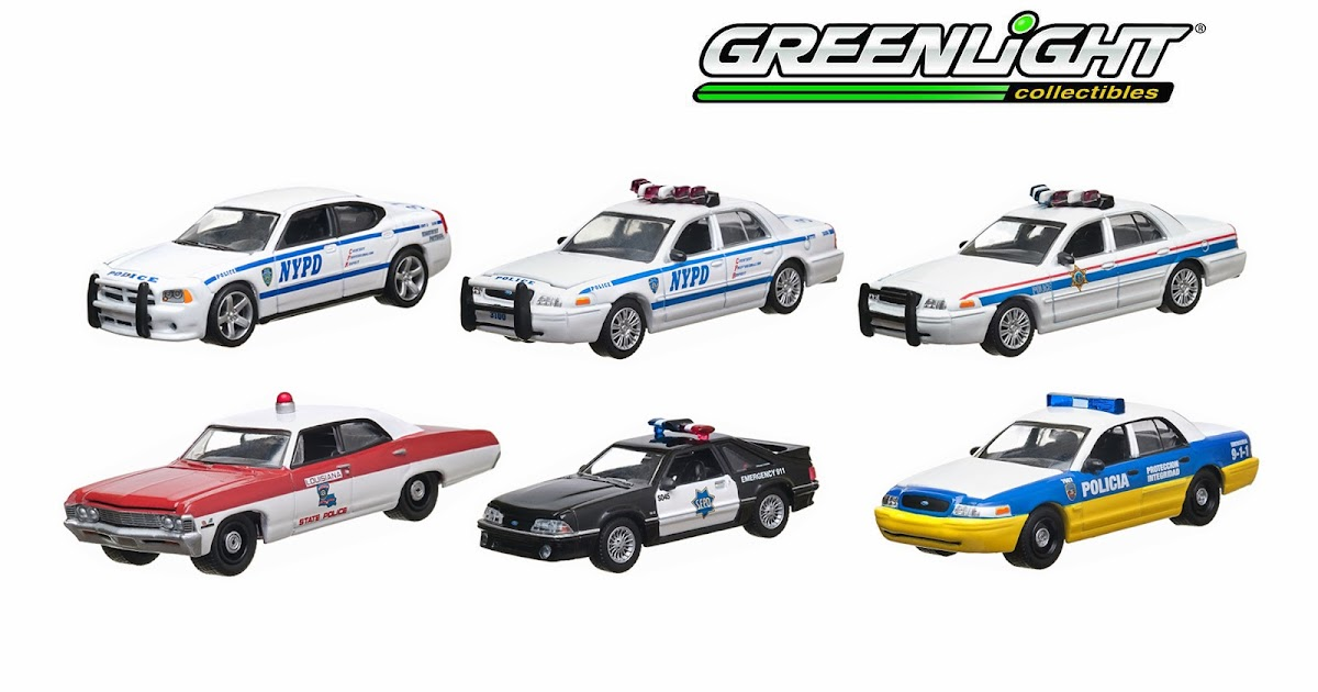 Greenlight Hot Pursuit  1993 Ford Crown Victoria New York Police NYPD