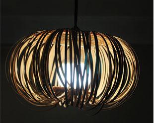la reines blog lampe aus furnier und kork so einfach. Black Bedroom Furniture Sets. Home Design Ideas