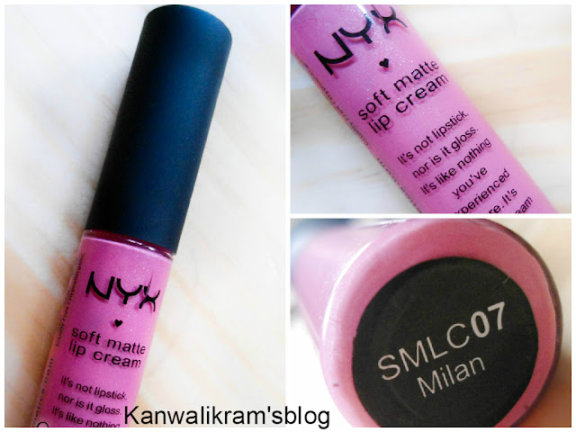 NYX Soft Lip Cream In Milan- Review And Swatches