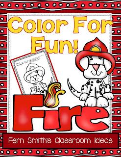 Fern Smith's Classroom Ideas Fire Prevention and Safety Fun! Color For Fun Printable Coloring Pages
