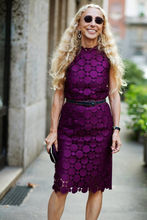 My Fashion Tricks Franca Sozzani Editor In Chief Vogue