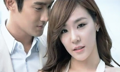 Following Tiffany and Siwon's commercial film and ...