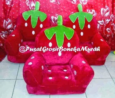 SOFA HANDLE STRAWBERRY - PUSAT GROSIR SOFA