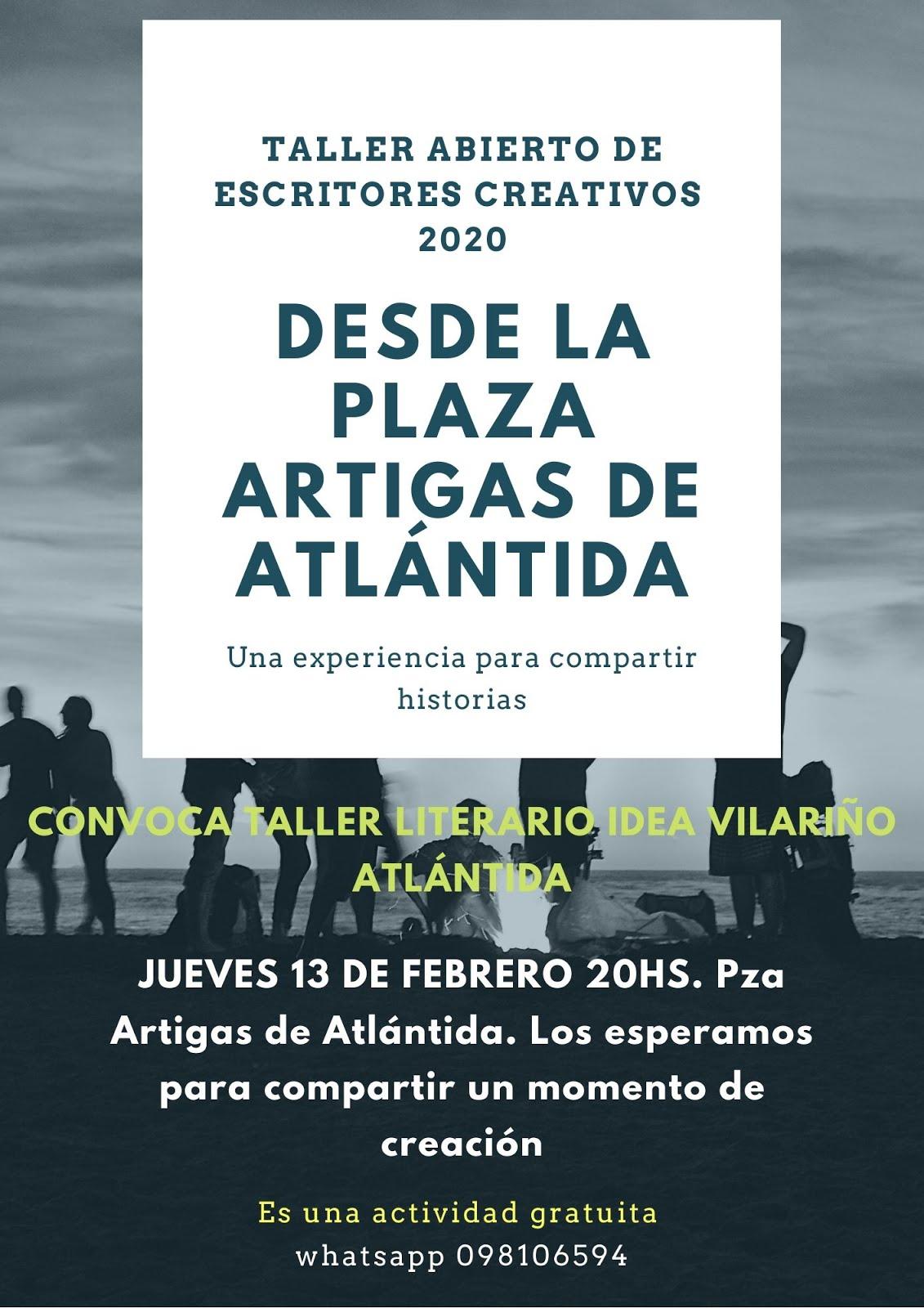 TALLER ABIERTO EN ATLÁNTIDA