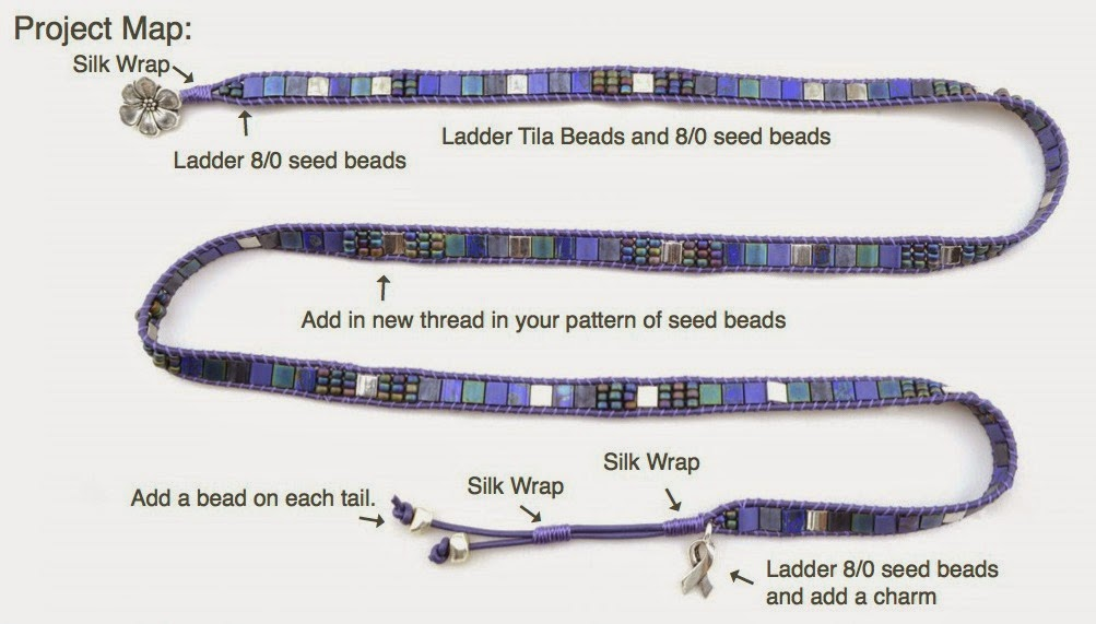http://beadshop.com/projects/youtube-videos/mosaic-wrap-bracelet/