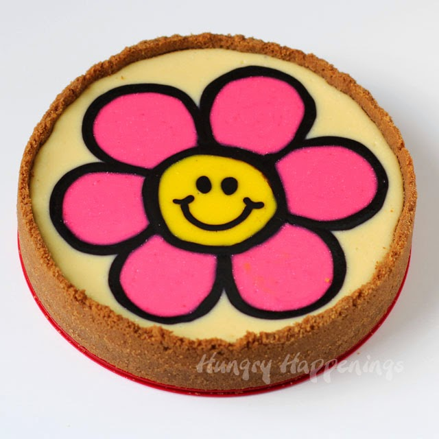 Daisy Cheesecake Recipe | HungryHappenings.com