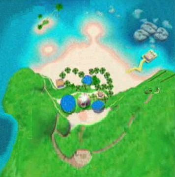 Super Mario Sunshine - Gelato Beach
