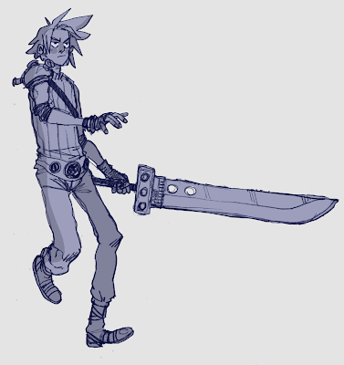 character of Final Fantasy 7
