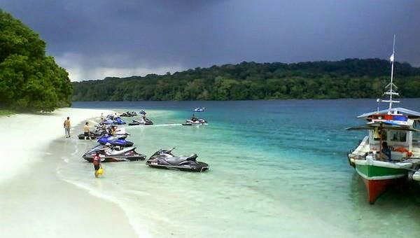 Tempat Wisata di Banten Pantai Tanjung Lesung