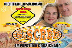 $&amp;$ CRED - DINHEIRO E CRDITO COM CONFIANA