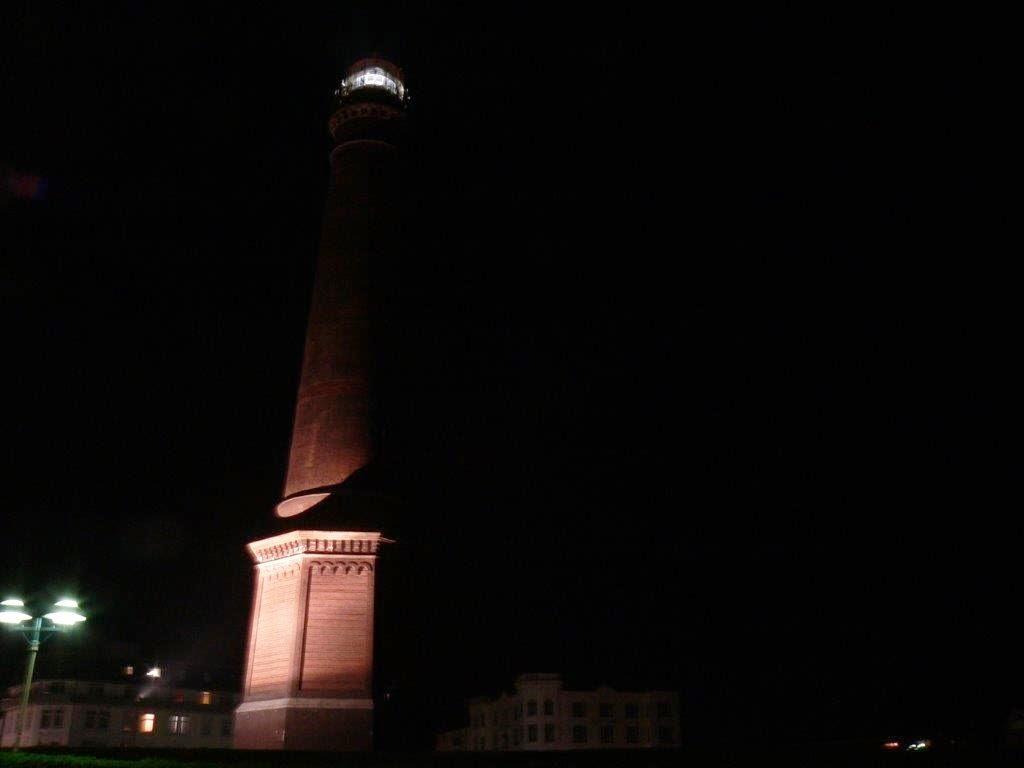 Wochenende Winter Urlaub Insel Leuchtturm Nacht dunkel