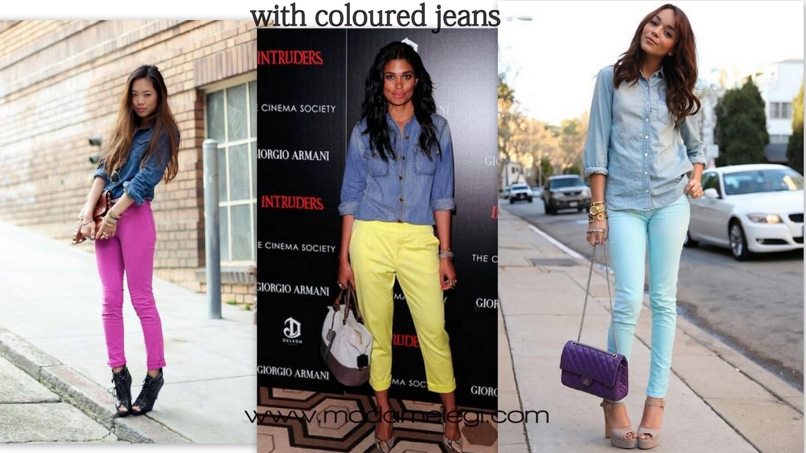 Джинсы самого модного цвета