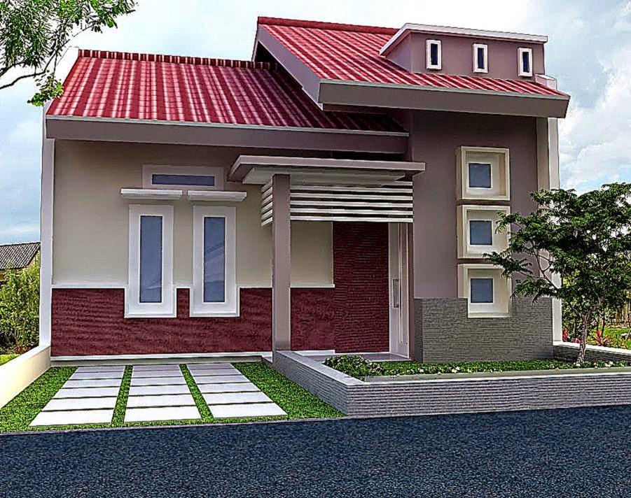 Desain Rumah Minimalis Modern 1 Lantai  Desain Rumah Minimalis