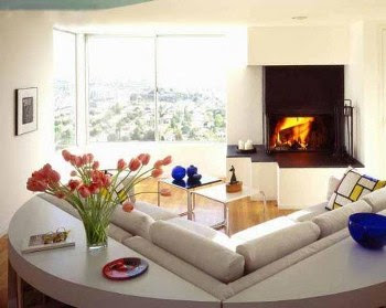Desain ruang tamu minimalis mungil sederhana