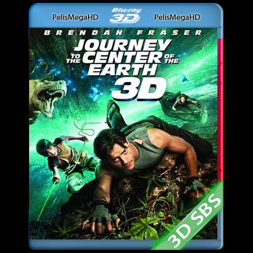 JOURNEY: VIAJE AL CENTRO DE LA TIERRA (2008) 3D SBS 1080P HD MKV ESPAÑOL LATINO