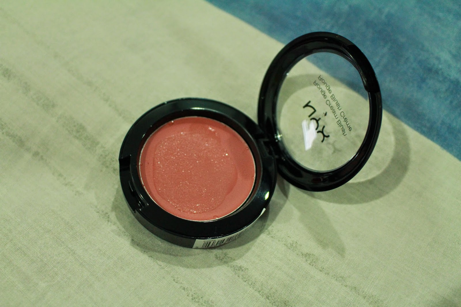 NYX Cream Blushers Review - Tea Rose