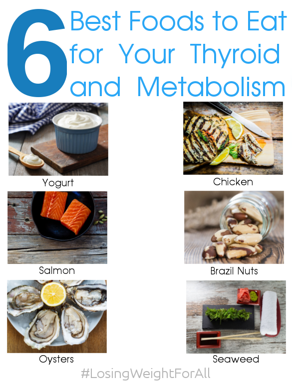 6 Best Foods to Eat for Your Thyroid and Metabolism
