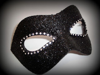 Murano Strass Designer Venetian Masquerade Mask