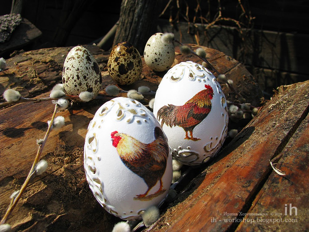 ажурное яйцо