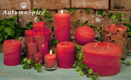 Autumn Spice - a n amazing fragrance blens in the perfect fall color.