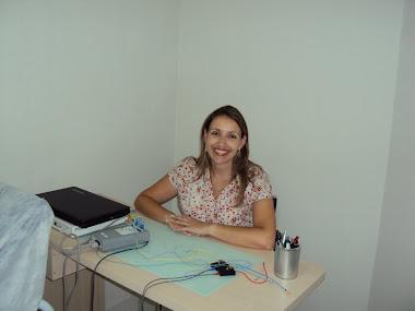 Eu na clínica da irmã