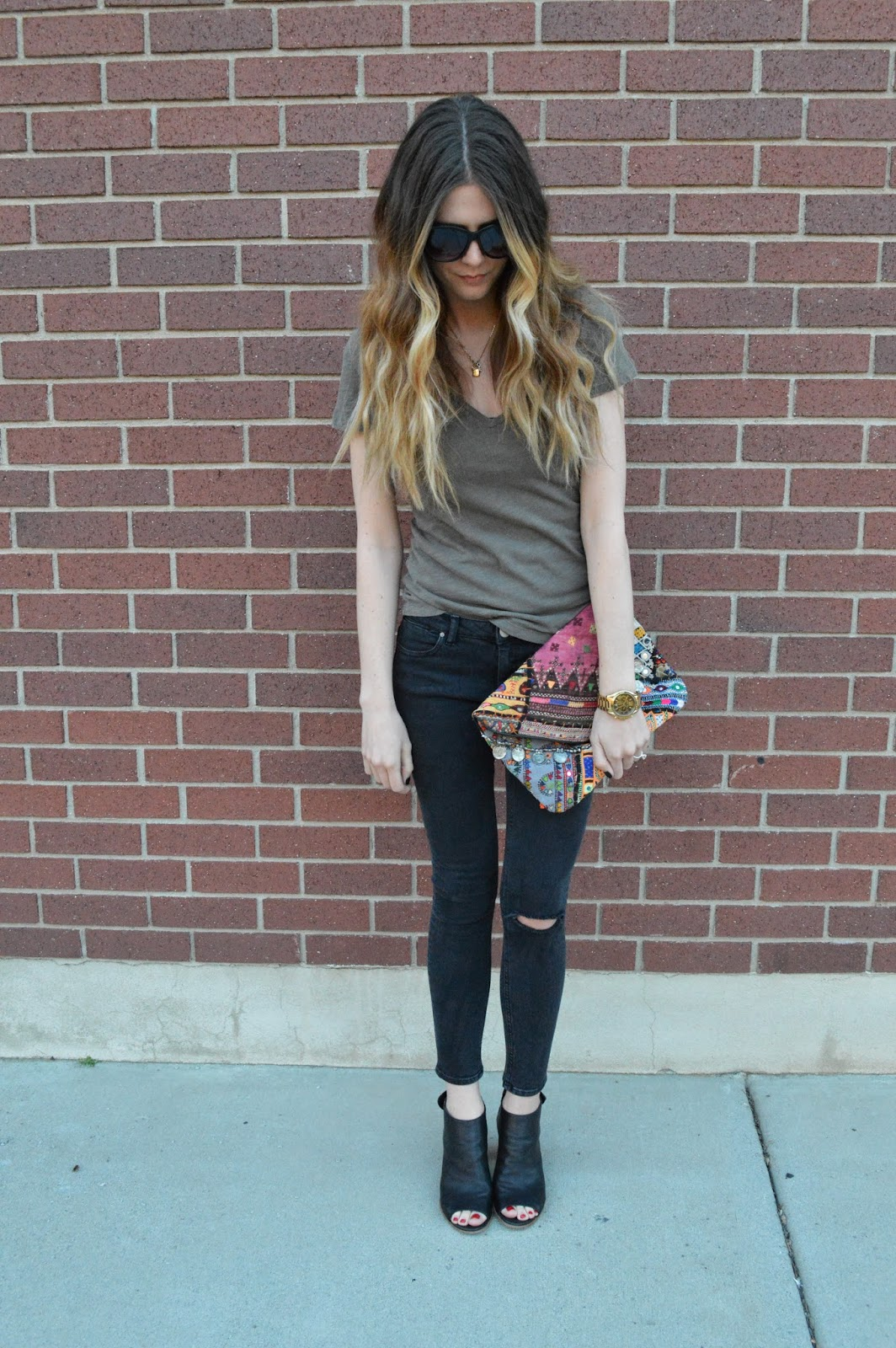 Black Distressed Jeans Outfit | Www.imgkid.com - The Image Kid Has It!