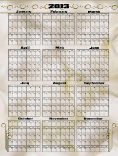 2103 yearly calendar in psd, png, or printable format, elegant beige background with golden art deco designs