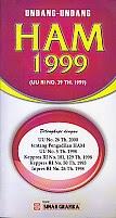 toko buku rahma: buku UU HAM 1999, penerbit sinar grafika