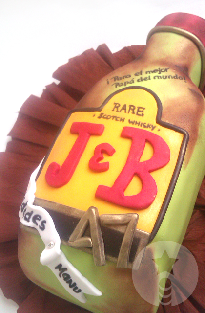 Manu Cake Design : *varita*: *J&B*