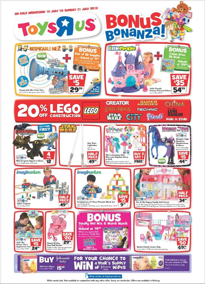 Toys R Us 20 Off : Oz brick nation off lego at toys r us