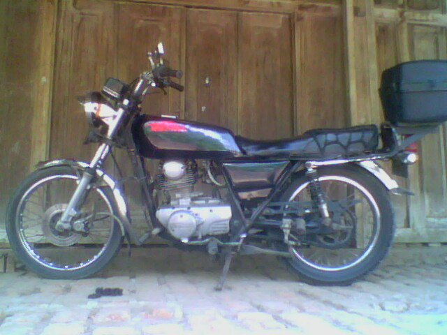 INDONESIAN KAWASAKI BINTER MERZY2