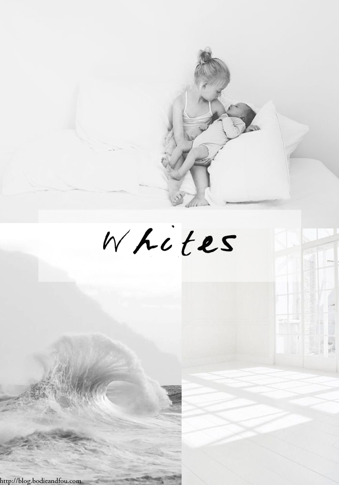 BODIE and FOU Style Blog WHITES 10 | 2014 http://blog.bodieandfou.com/ #whites #moodboard #photography #elinnevisscher
