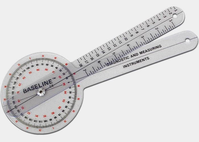 Jual Goniometer, alat ukur luas gerak sendi