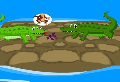 Monkey and the Crocodile 3