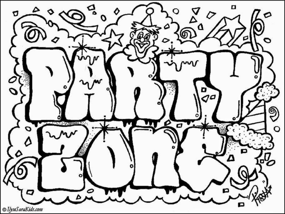 free graffiti coloring pages az coloring pages