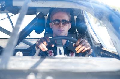 El actor Ryan Gosling en una escena de la película Drive