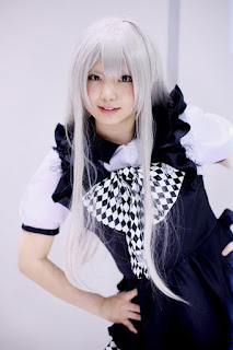 Enako Cosplay as Nyaruko from Haiyore! Nyaruko-san