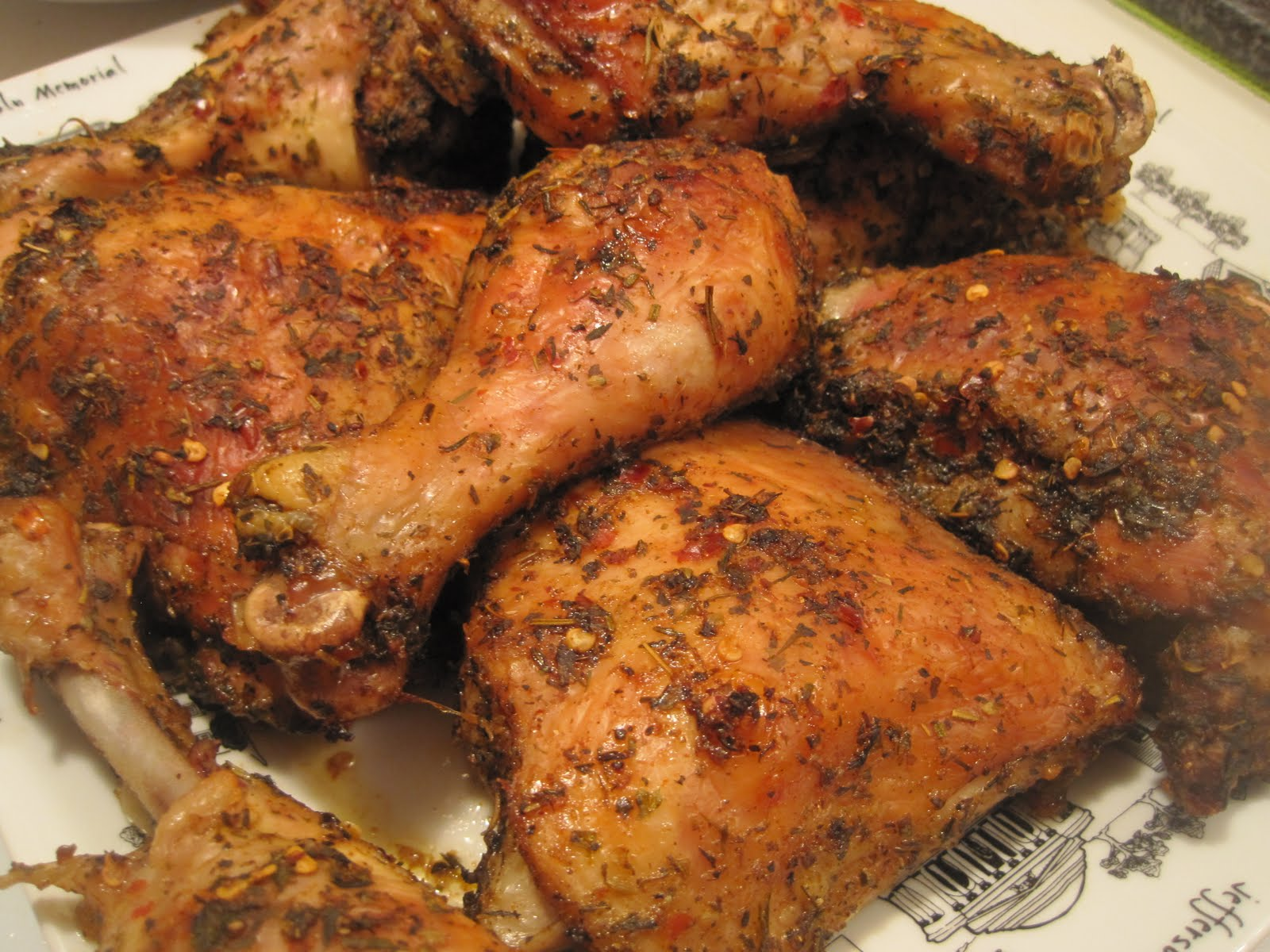 oven jerk chicken feeds 5 ingredients 5 each chicken legs