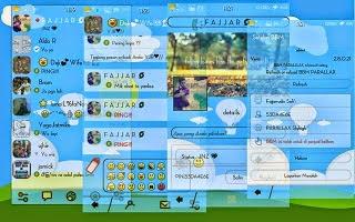 BBM Mod PARALLAX Skyhigh Apk