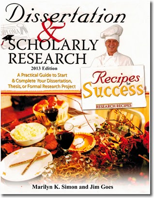 "Book review: ""Dissertation & Scholarly Research"" by Marilyn K Simon and Jim Goes"