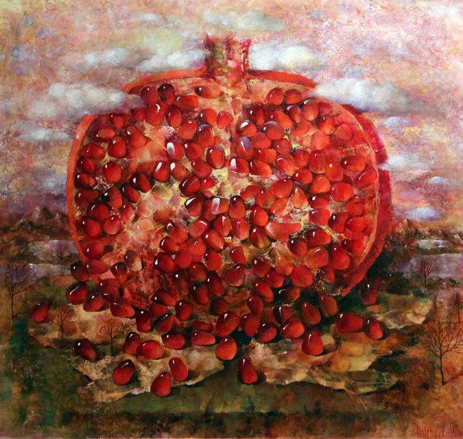 Helen Illichova [Елена Ильичева] 1958 ~ Ukrainian painter