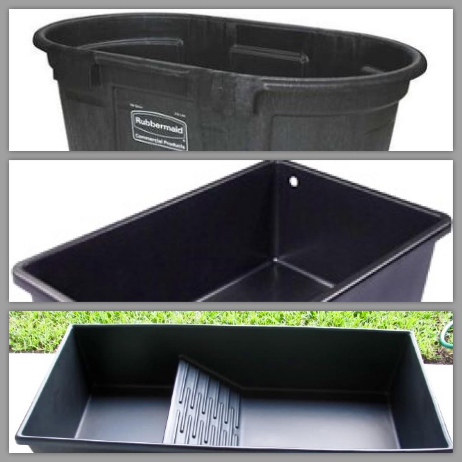 Turtle base blog stock tanks vs waterland tub vs laguna Plastic pond tubs