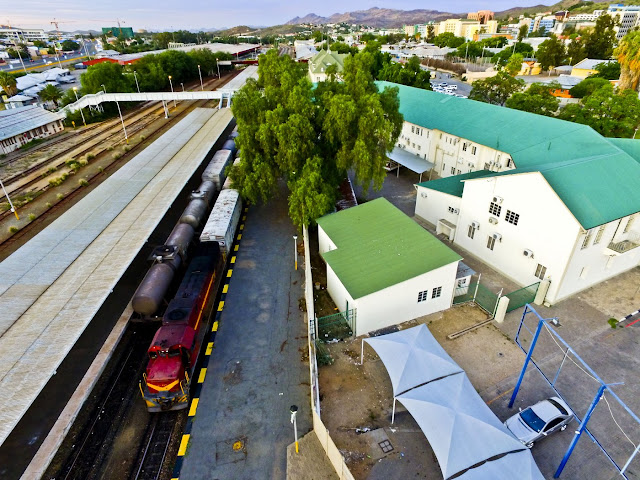 Namibia | Windhoek railway station aerial photo gallery