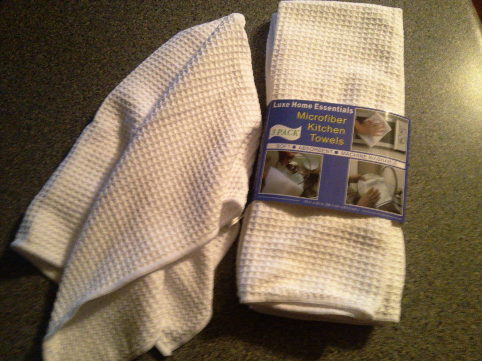 Luxe Home Essentials Microfiber Kitchen Dish Towels Review