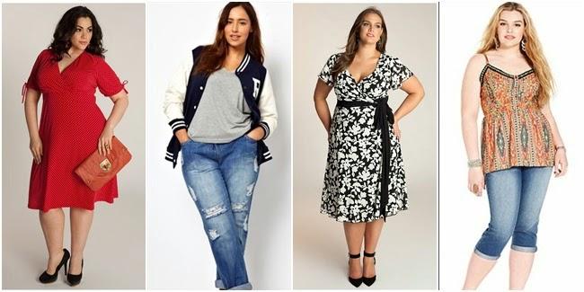 model baju wanita gemuk dan pendek terbaru 2015