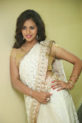 gowthami chowdary glamorous in saree-thumbnail-9