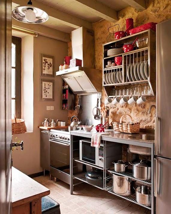 como organizar a cozinha - copos e talheres - cozinha dos sonhos - dicas de organização