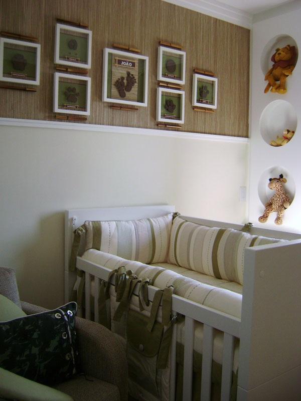 Quarto De Bebe Decorado Com Safari ~ Casada e Apaixonada Quarto de Beb? Safari