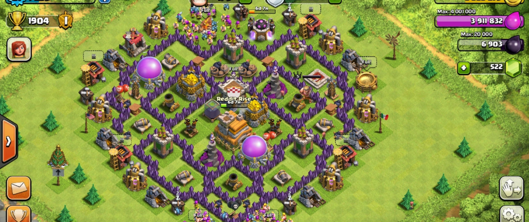 Town Hall-7 WAR BASE layouts 2016 - COC-Designs