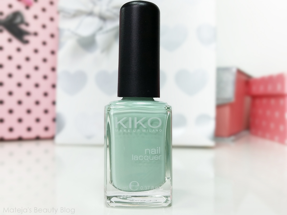 Health Beauty Tips: Kiko Nail Lacquer 345 Jade Green